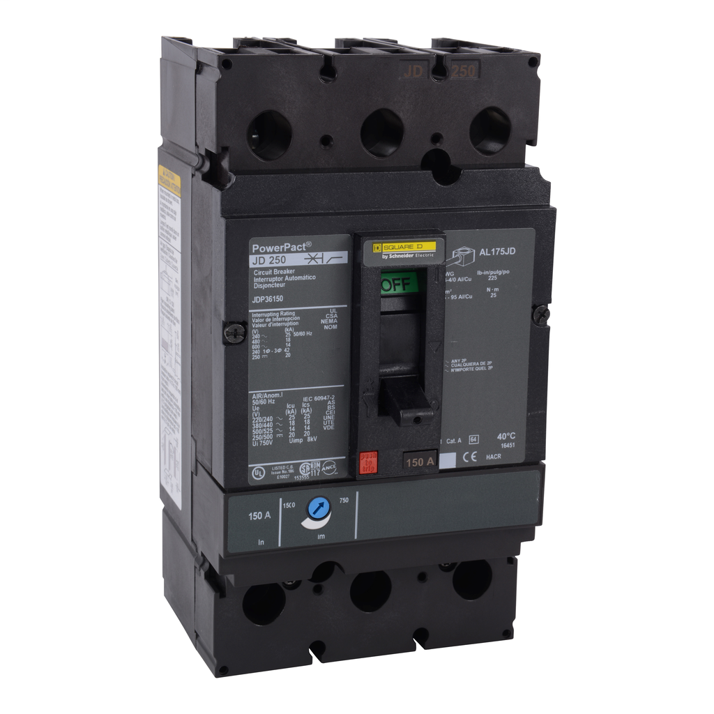 Mayer-Molded Case Circuit Breaker 600V 225A-1