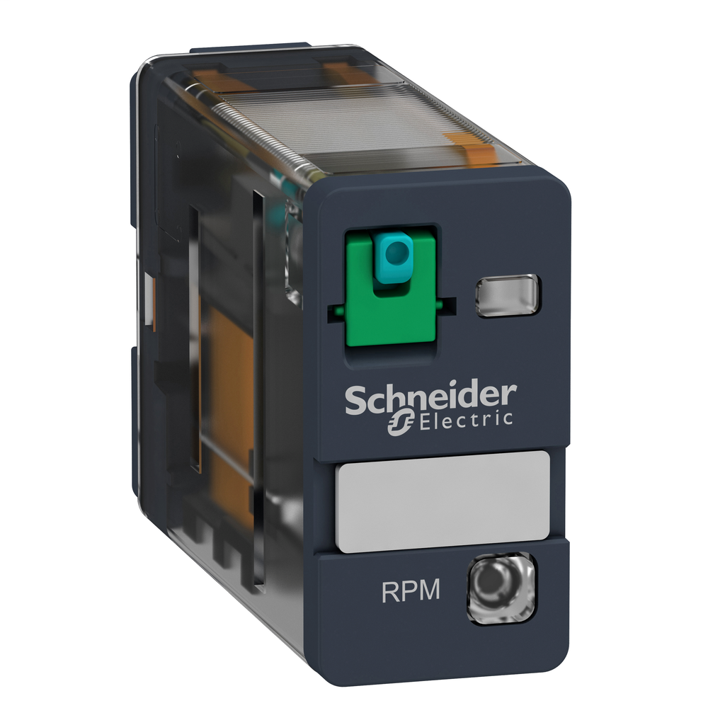SQD RPM12JD PLUG-IN RELAY 250V 15A RPM +OPTIONS