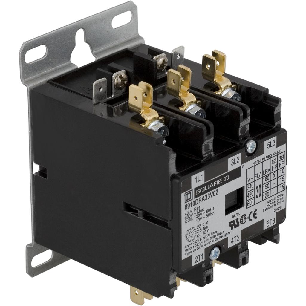SQD 8910DPA33V02 120V CONTACTOR