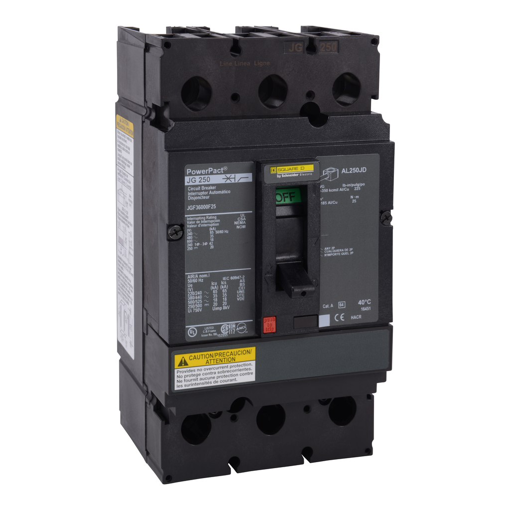 Mayer-Molded Case CB Frame 600V 250A-1
