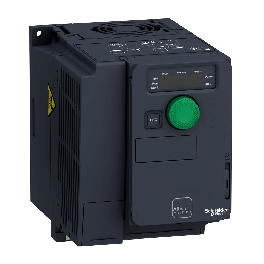 SQD ATV320U07N4C ATV320 COMPACT DRIVE IP20 -1HP-400/480V 3PH