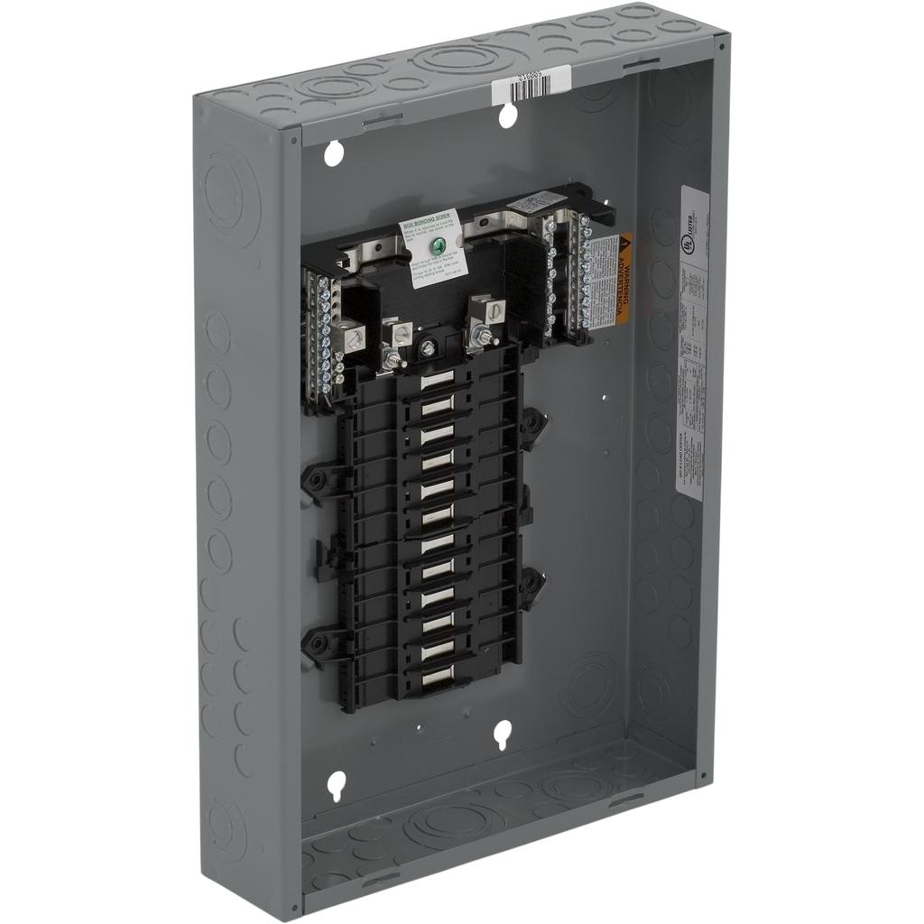 SQD QO124L125G LD CNTR BOX & INT