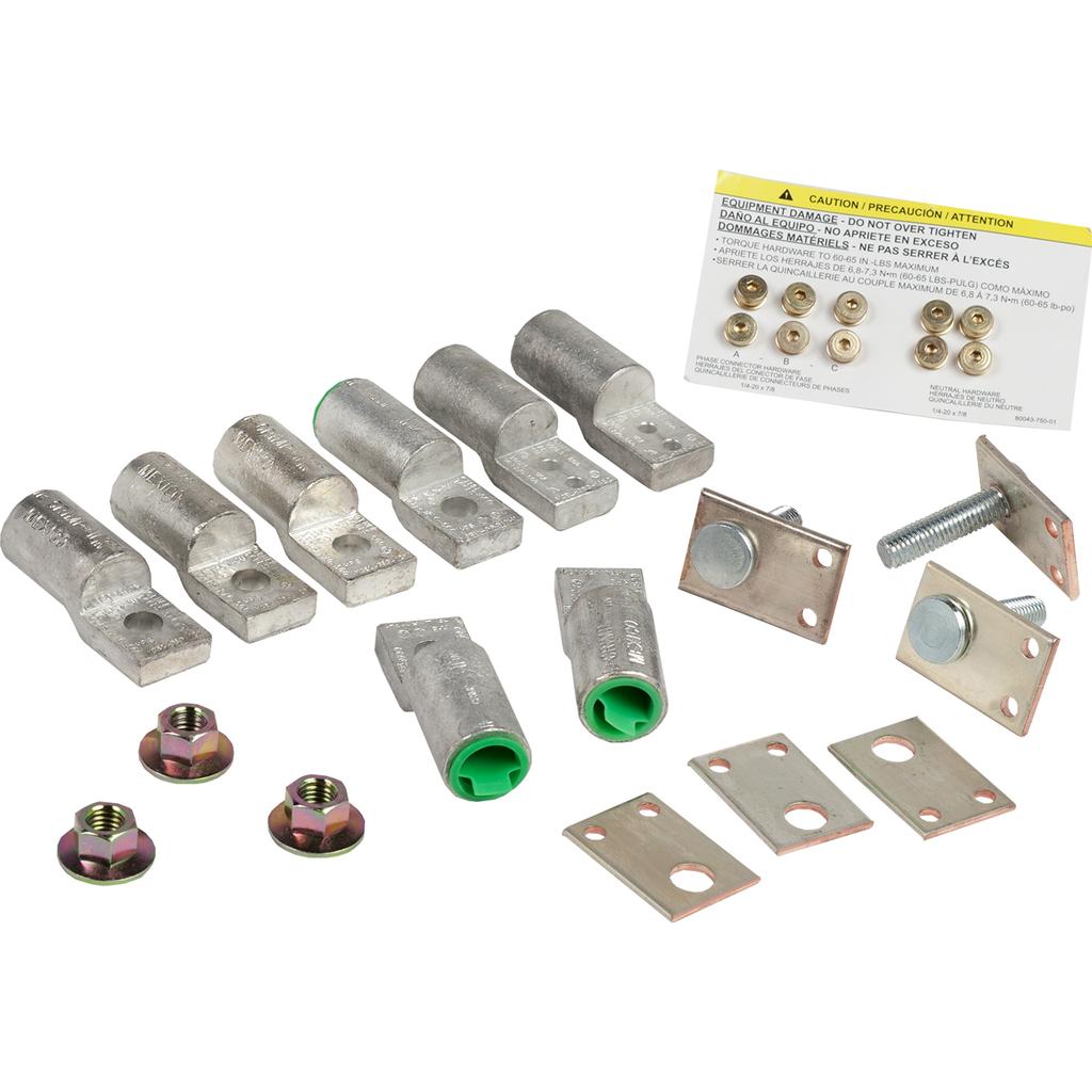 Mayer-NQ Panelboard Acc. Compression Lug Kit 225A, Aluminum-1