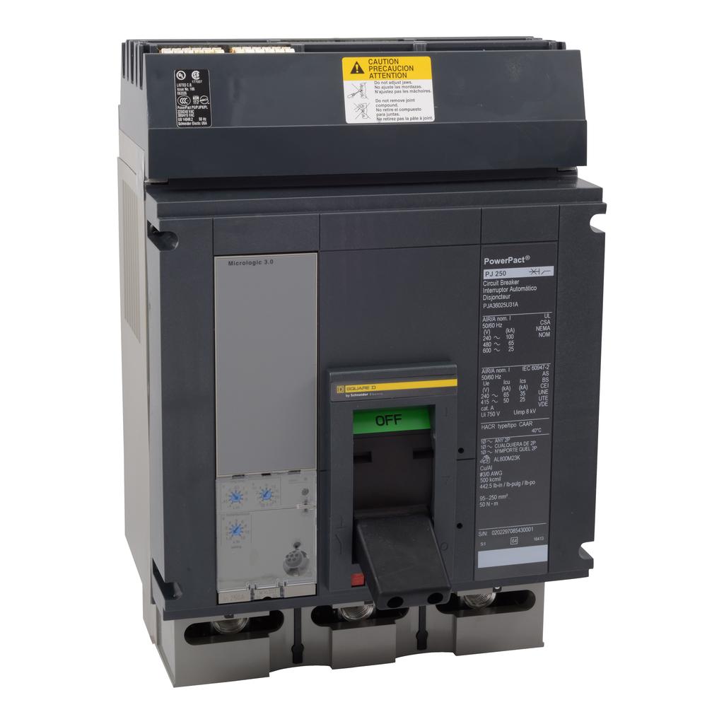 Mayer-MOLDED CASE CIRCUIT BREAKER 600V 250A-1