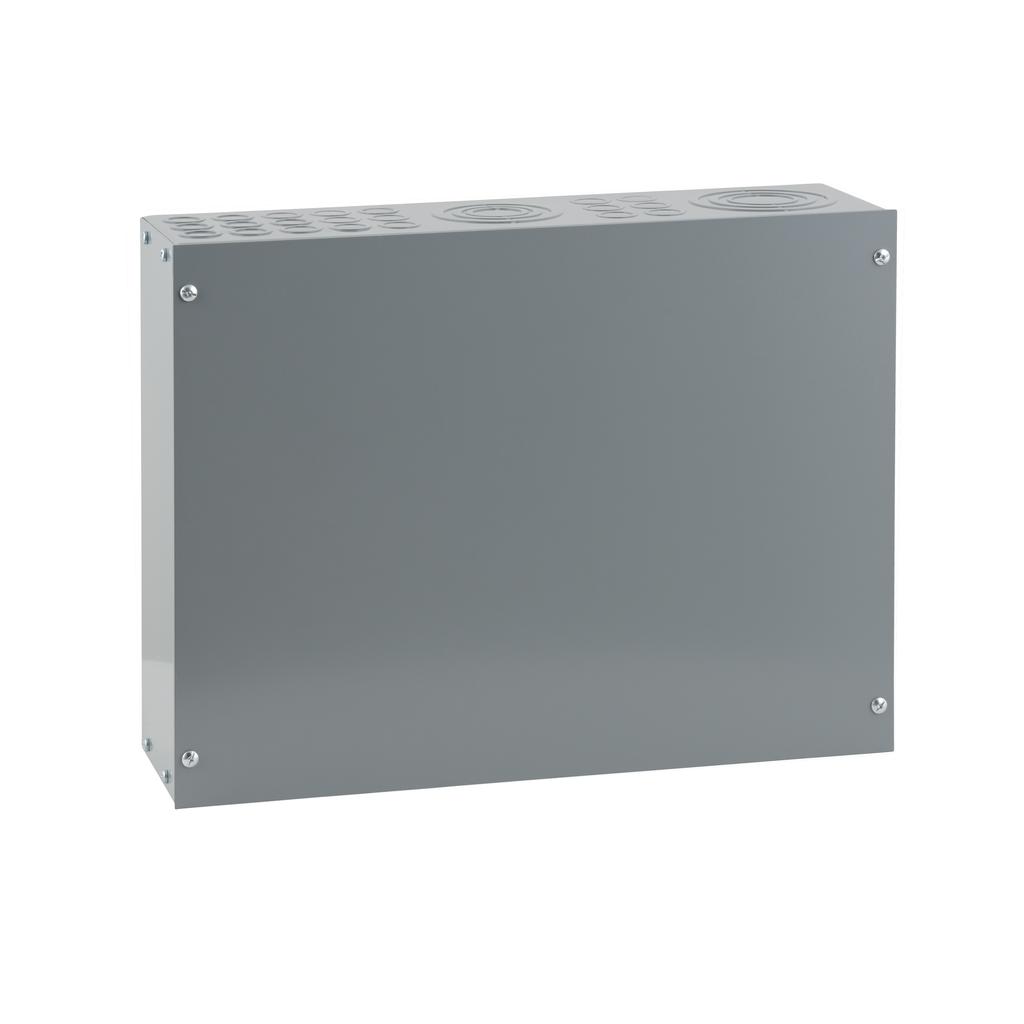 Mayer-NQNF Panelboard Enclosure Pull Box, 42 Terminals, 20 x 15 x 5.75 in-1
