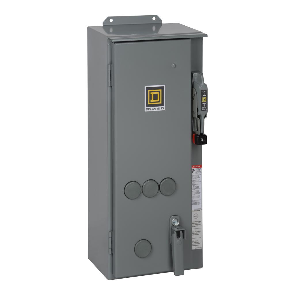 SQUARE D NEMA Circuit Breaker Combination Starters 8539S - 8539SCA17V02S