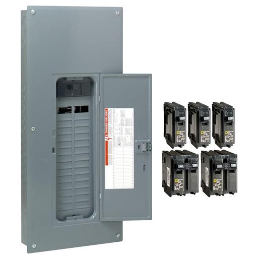 SQD HOM3060M200PCVP HOM VALPK INDR 200A MB 30/60CIR Includes 3-HOM120, 2-HOM230