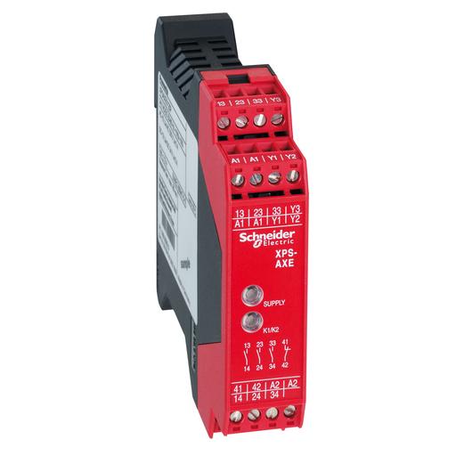 SQD XPSAXE5120C SAFETY RELAY VAC/DC