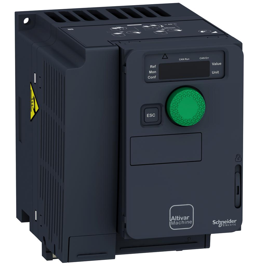 SQD ATV320U22M3C COMPACT DRIVE IP20 3HP 200/240V 3PH
