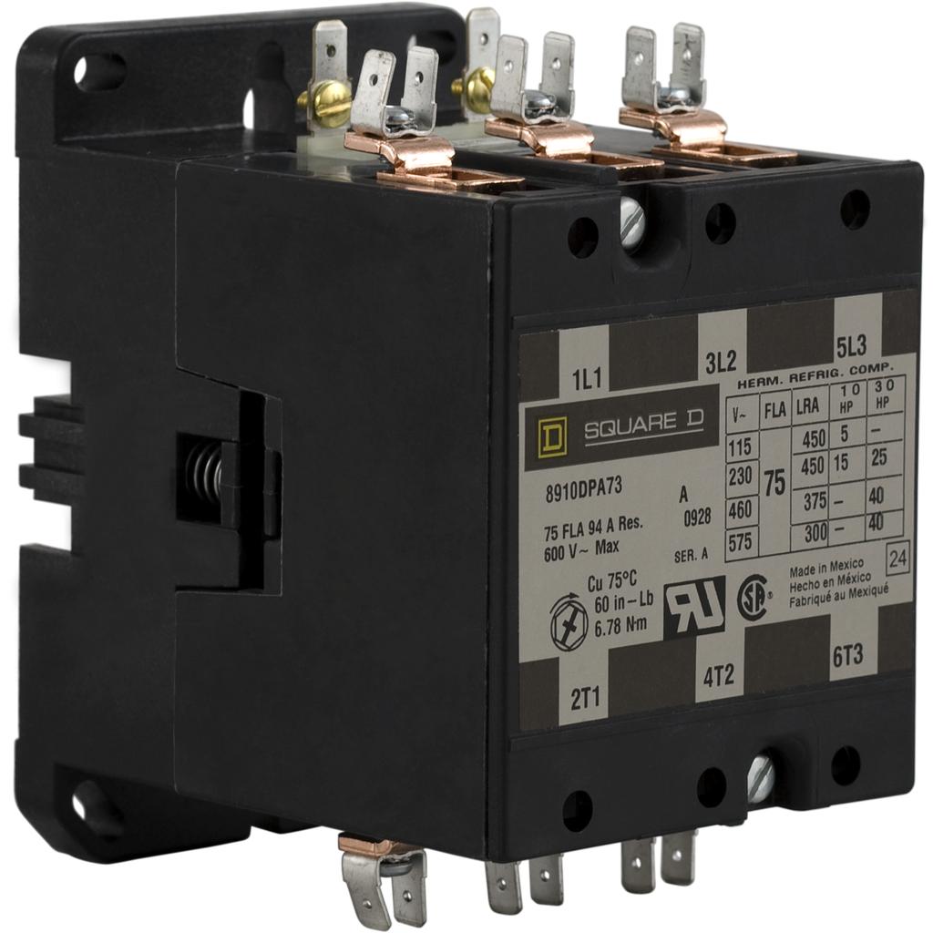 SQD 8910DPA73V02 120V CONTACTOR