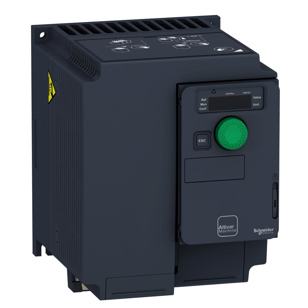 SQD ATV320U40M3C COMPACT DRIVE IP20 5HP 200/240V 3PH