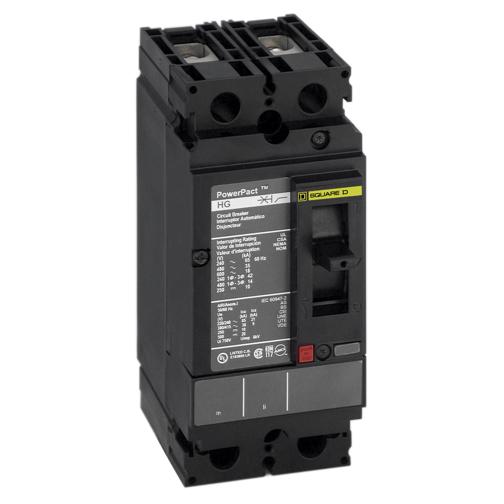 SQUARE D PowerPact H-Frame Molded Case Circuit Breakers Unit Mount - HDL26025