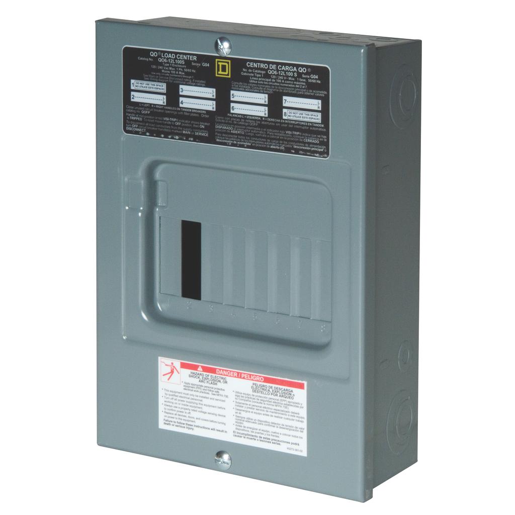 SQD QO612L100S SFC LD-CNTR
