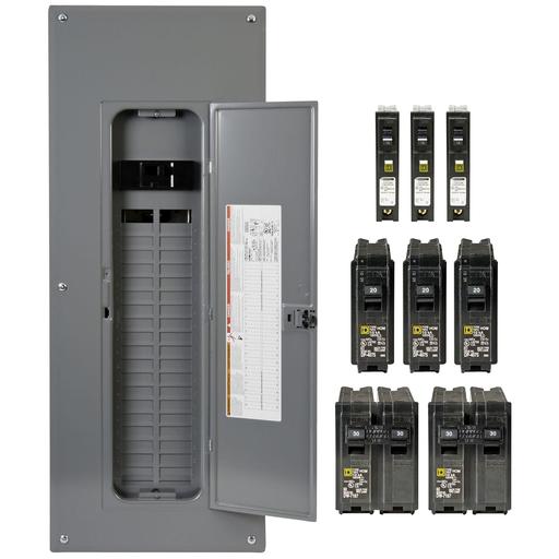 Mayer-Homeline™ Load Centers Plug-on Neutral Load Centers - HOM4080M200PCAFVP-1