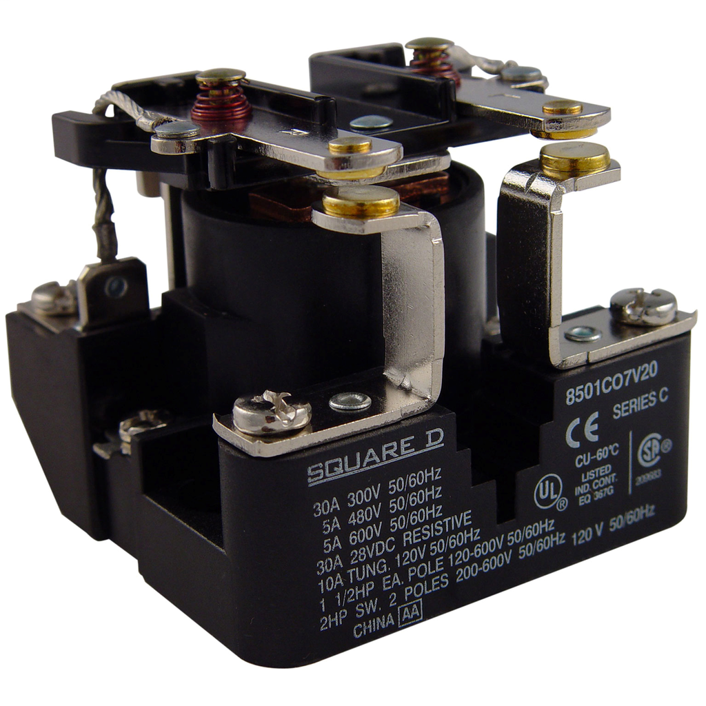 SQD 8501CO7V14 24V 2-NO RELAY
