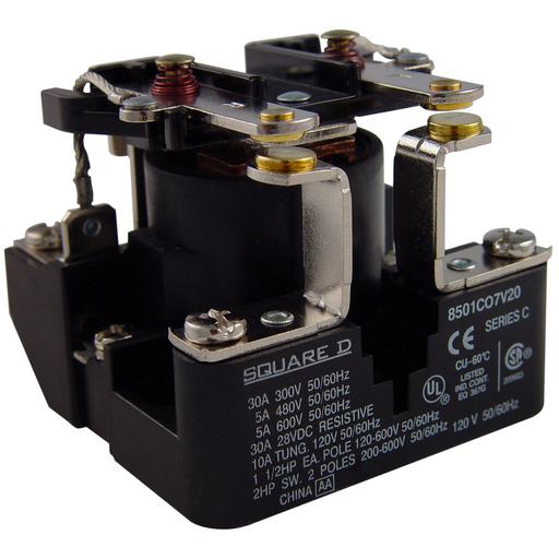 SQD 8501CDO7V51 12VDC RELAY