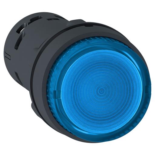 SQD XB7NW36B1 ILLUM PB LED SPRING RTN 1NO BLUE 24V