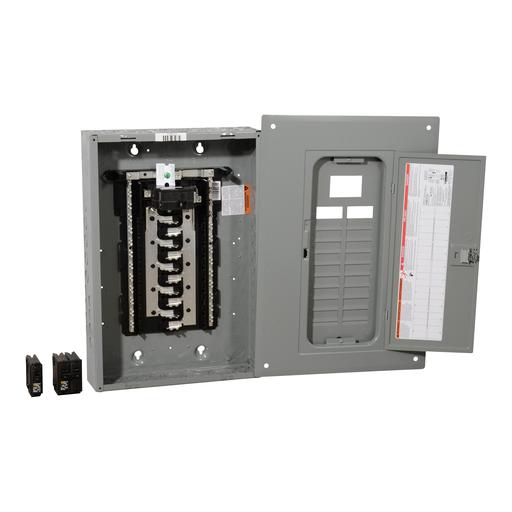 SQD HOM2040M100PCVP HOM VALPK INDR 100A MB 20/40CIR Includes 2-HOM120, 1-HOM230