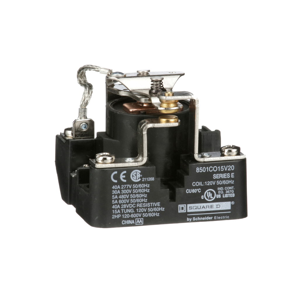 SQD 8501CO15V20 1NO/NC 120V RELAY