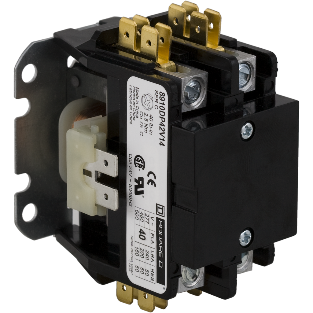 8910 Definite Purpose Contactors - 8910DP32V06