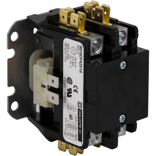 Mayer-8910 Definite Purpose Contactors - 8910DP12V14-1