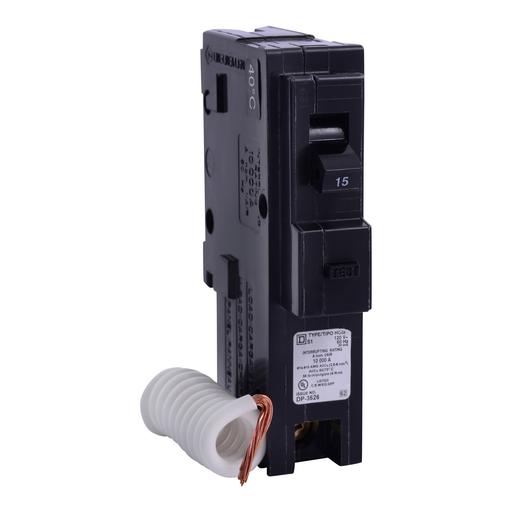 SQD HOM115EPD 15A 120V EQUIPMENT GFI PROTECTION CIRCUIT BREAKER