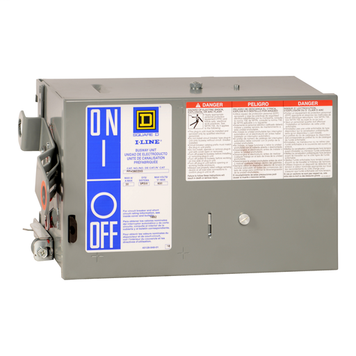 SQD PFH36060G 3P-600V-60A CB