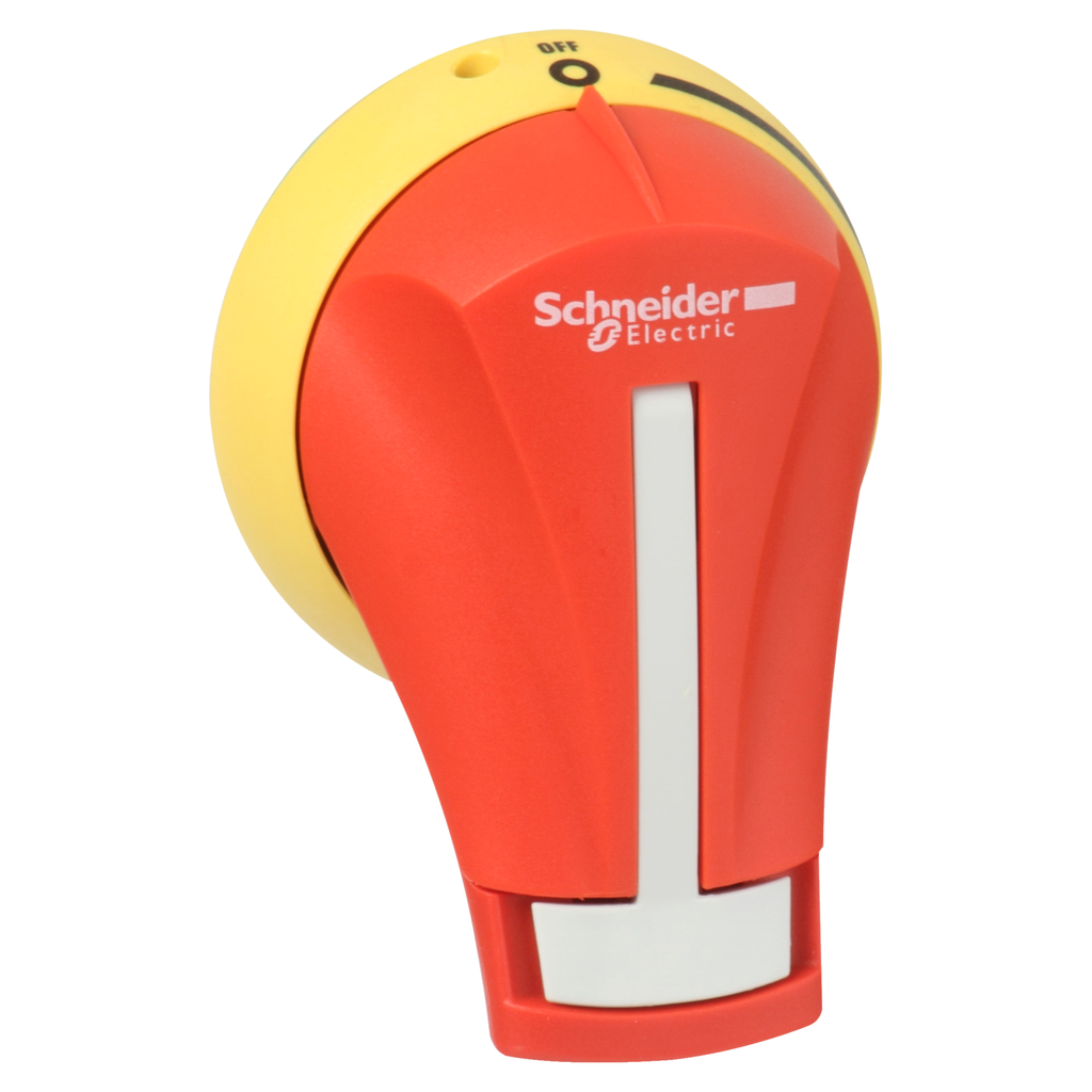 SQD GS2AH120 HANDLE RED/YELLOW OFF ON