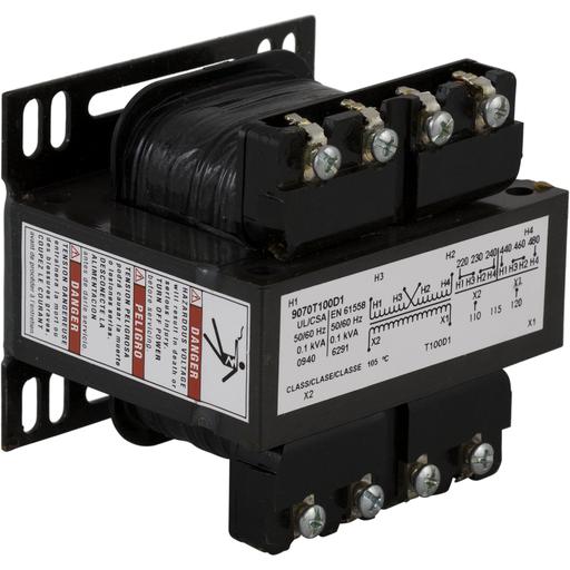 SQD 9070T100D1 240/480V-120V TRANSFORMER CONTROL