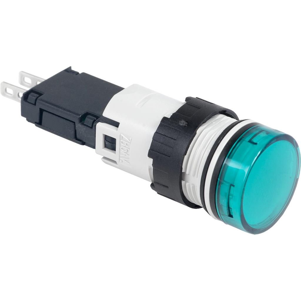 SQD XB6AV3GB 120V GRN RND LED