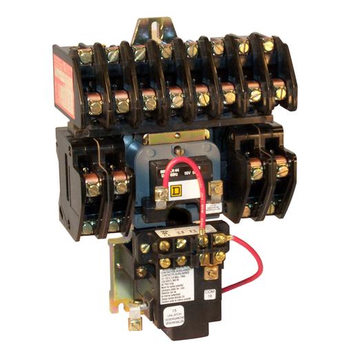 SQD 8903LXO60V04 30A 6P LTG CNCTR +OPTIONS