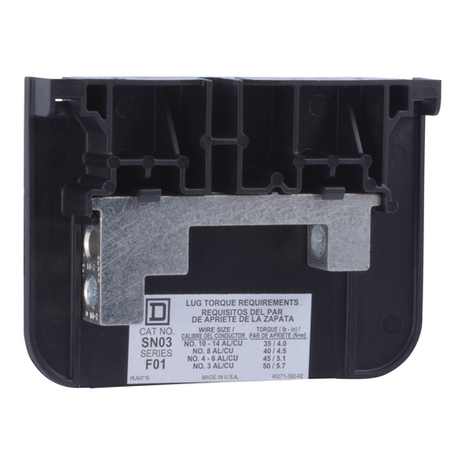 Mayer-100A Safety Switch Copper Solid Neutral Assembly-1