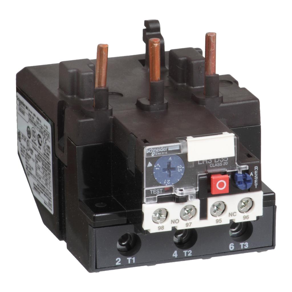 SQD LR3D3555 30-40A CLASS 20 IEC OVERLOAD RELAY