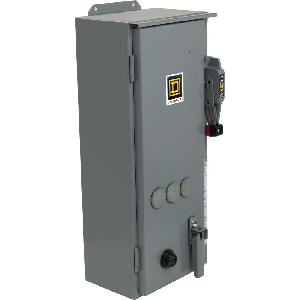 SQUARE D NEMA Circuit Breaker Combination Starters 8539S - 8539SBA53S8V02S