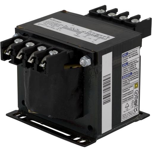 SQD 9070T250D1 250VA 240/480 120V CONTROL TRANSF