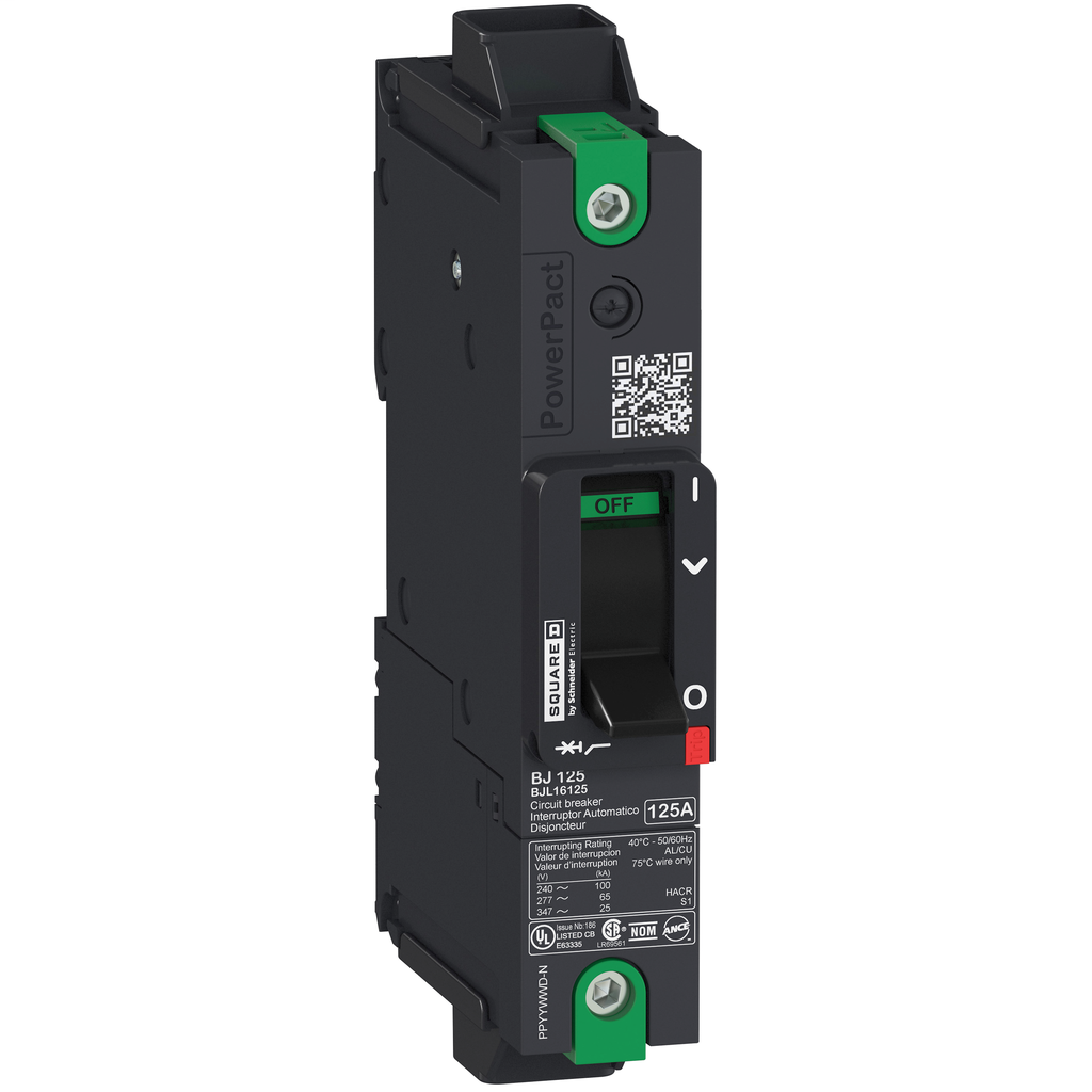 SQUARE D PowerPact B-Frame Molded Case Circuit Breakers Unit Mount - BGL16015