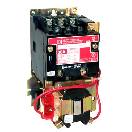 SQD 8903SQO11V02 LIGHTING CONTACTOR NEMA +OPTIONS