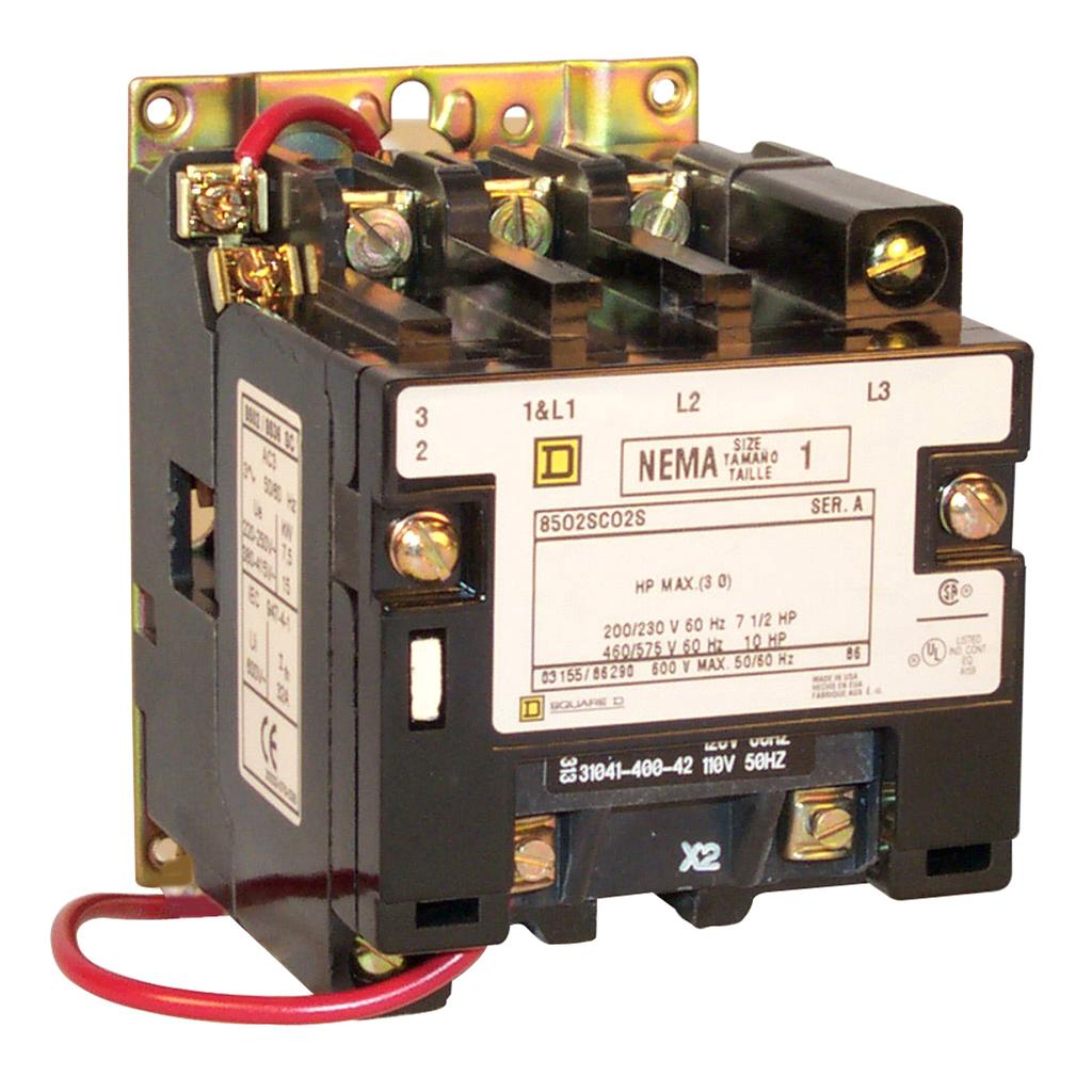 SQD 8502SCO2V02S CONTACTOR 120V