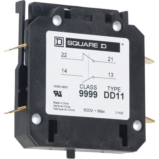 SQD 9999DD11 AUXILIARY CONTACT SER C