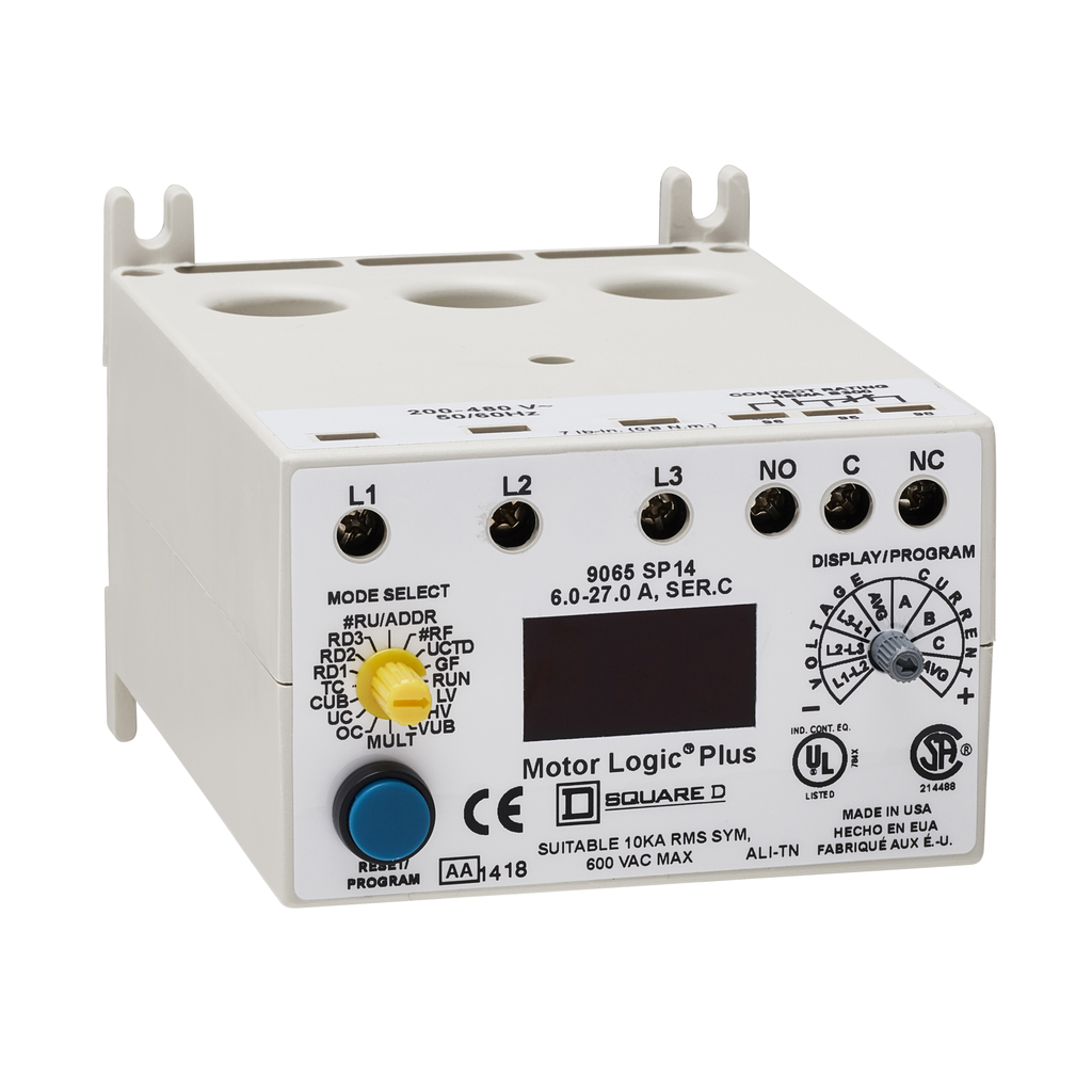 Mayer-Motor Logic Solid State Overload Relays - 9065SP14-1