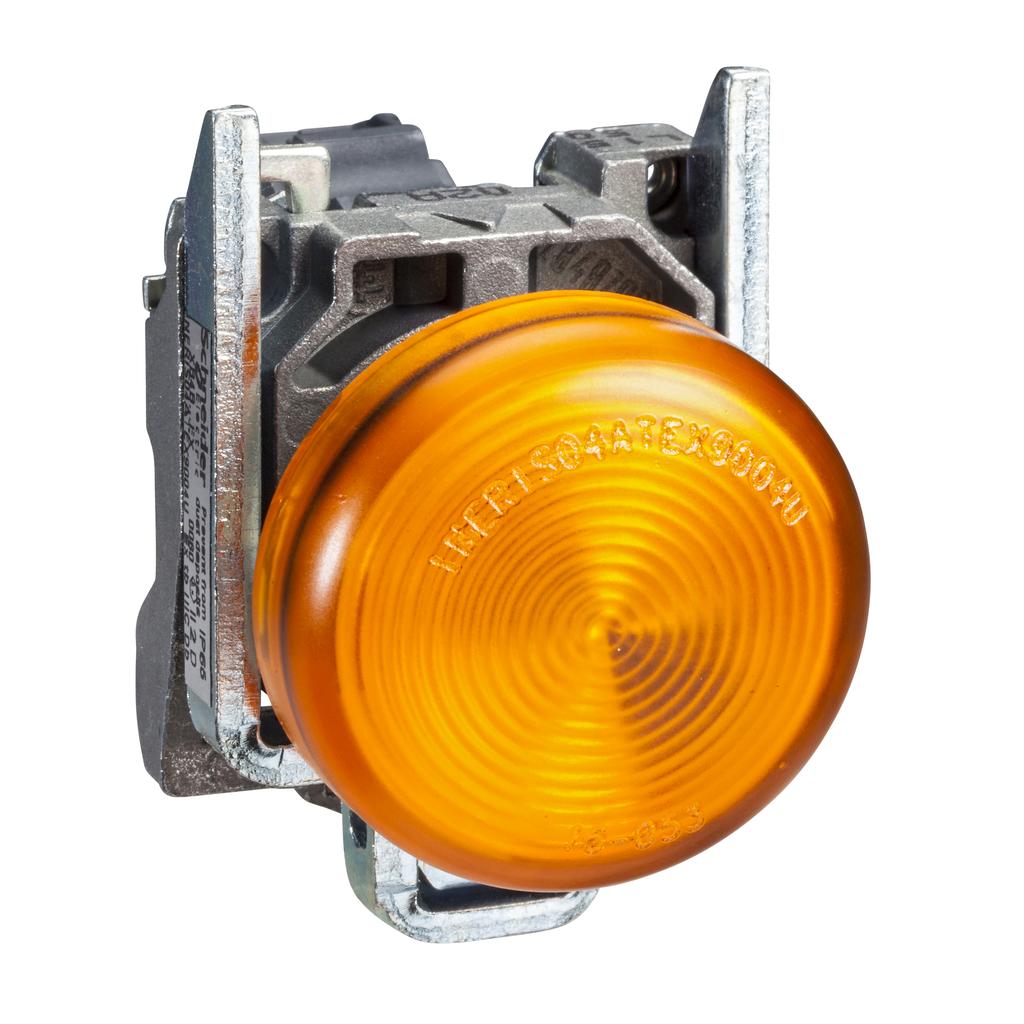 SQD XB4BVG5 YELLOW PILOT LIGHT