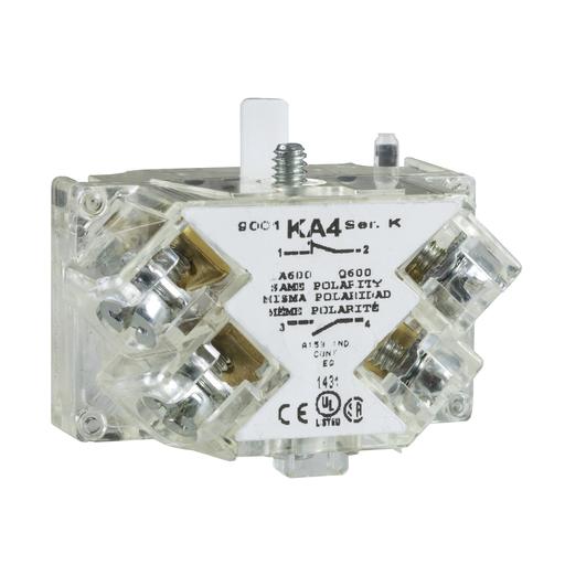 SQD 9001KA1 N/O N/C PUSHBUTTON CONTACT BLOCK