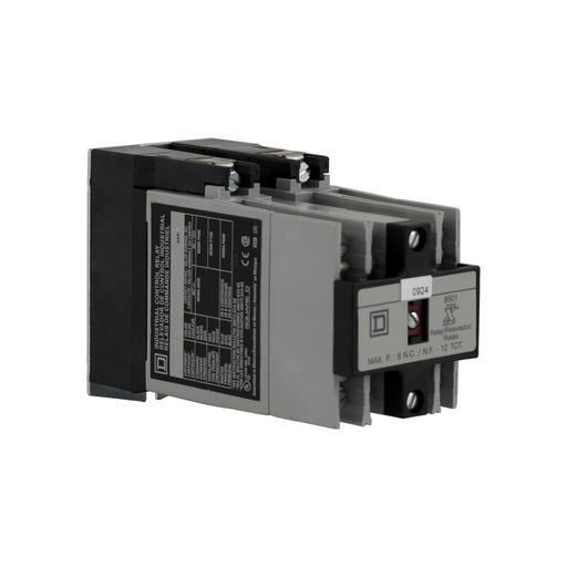 SQD 8501XO80V02 8POLE MACHINE CONTROL RELAY 600VAC 10AMP