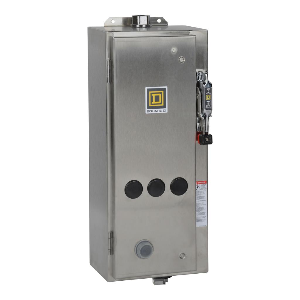 SQUARE D NEMA Circuit Breaker Combination Starters 8539S - 8539SBW1V02S