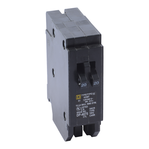 SQD HOMT2020 1P 20A TWIN CIRCUIT BREAKER