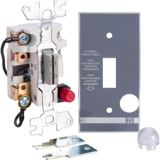 SQD 2510FO4P FHP MANUAL STARTER - OPEN - 2P - KE