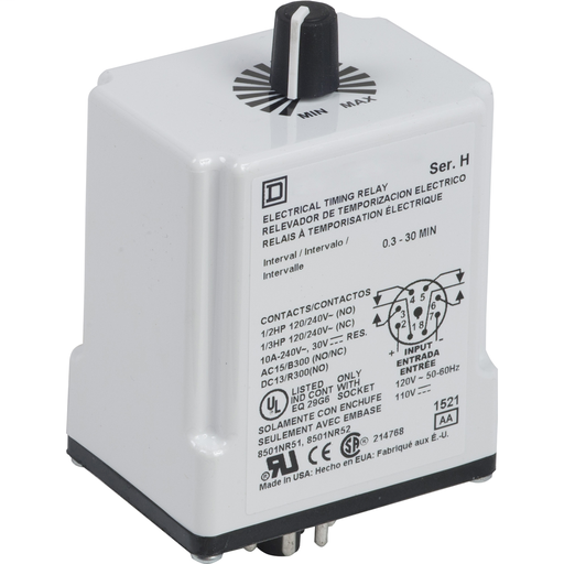 SQD 9050JCK32V14 24V RELAY +OPTIONS