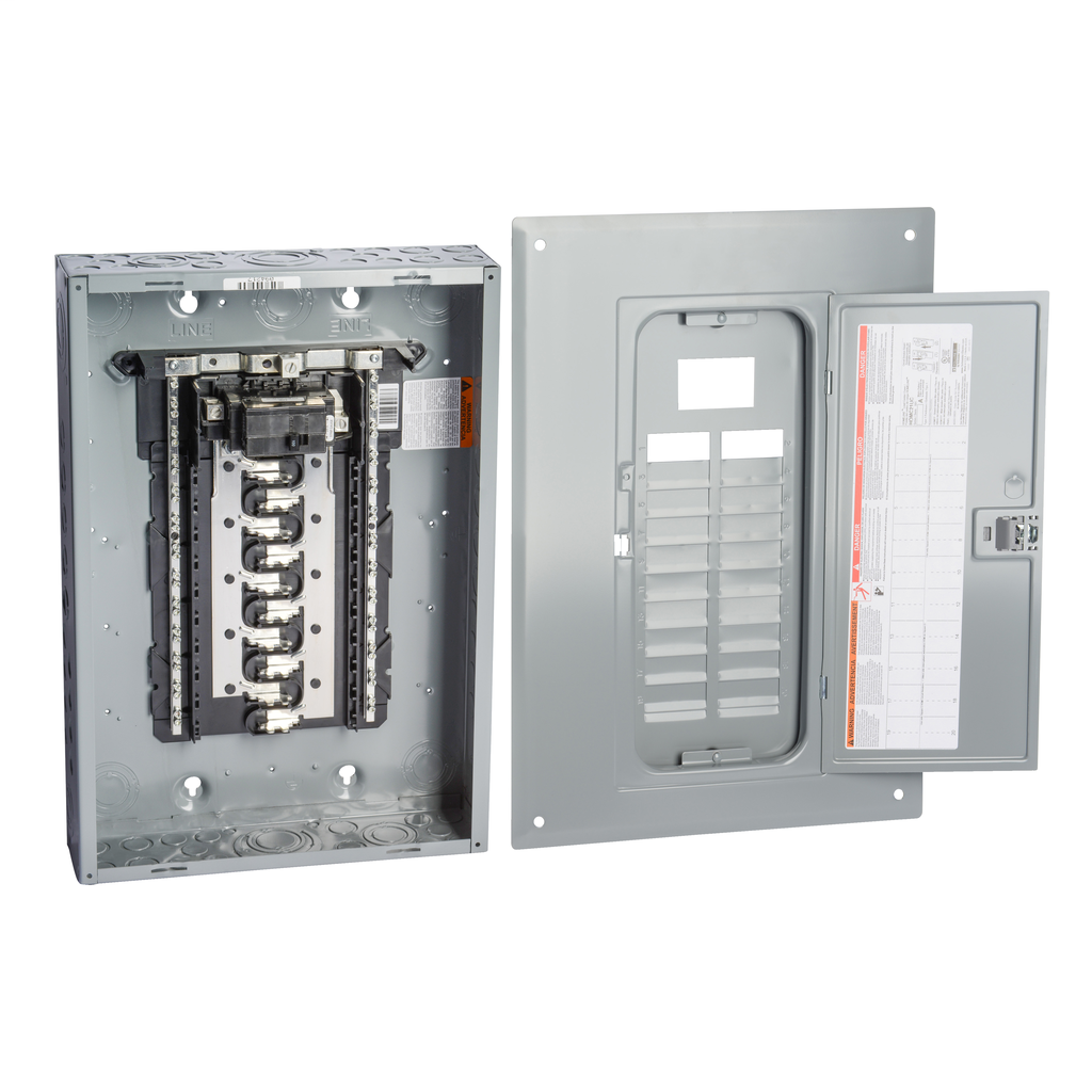 Squared Hom2040m100pc Hom Indr 100a Mb 20 40cir Sparkling Electrical Is My Timerunning Sub But This Box Just Engineered For Value Homeline Plug On Neutral Load Centers Are Designed Fast Installation Reliability And Superior Circuit Protection