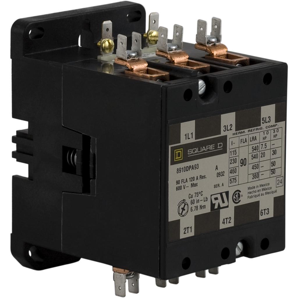SQD 8910DPA93V02 120V CONTACTOR