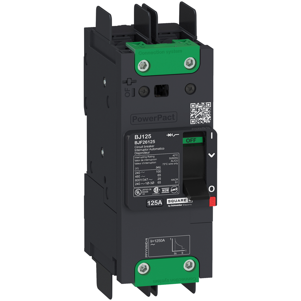 SQUARE D PowerPact B-Frame Molded Case Circuit Breakers Unit Mount - BGF26050
